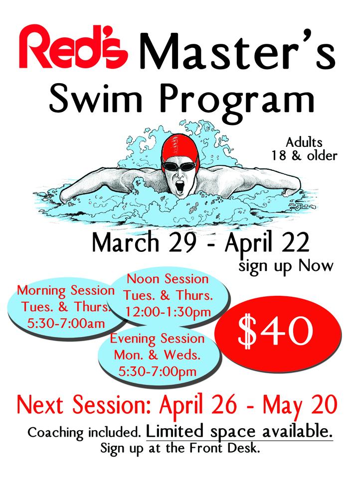 Master's Swim Program