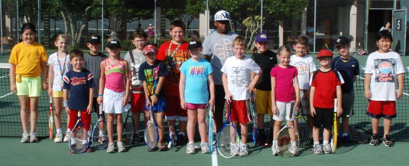 Jr tennis camp