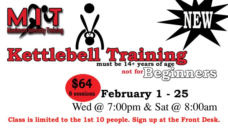 MIT kettlebell training