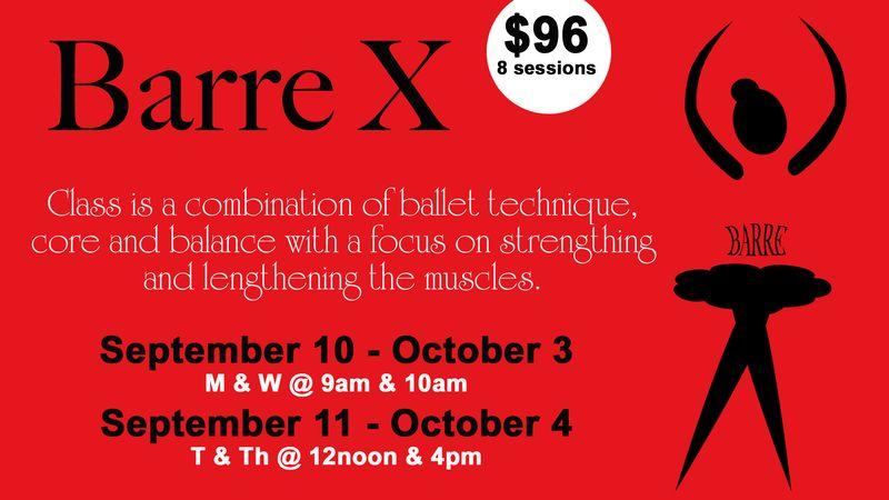 Barre X Classes