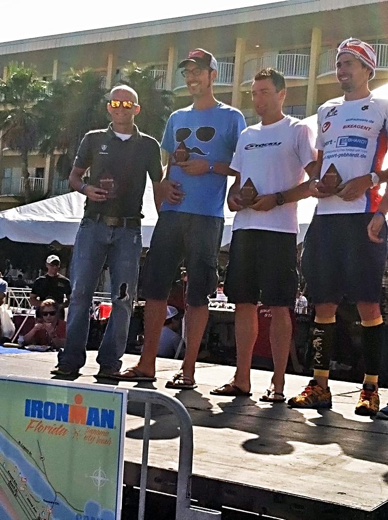 John Fell podium