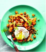 Chicken sweet potato hash