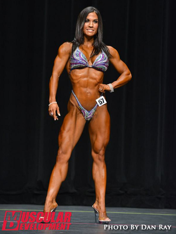 ifbb pro figure competition red lerilles